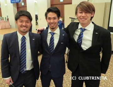 宮阪選手・山口選手・川西選手 ブログ