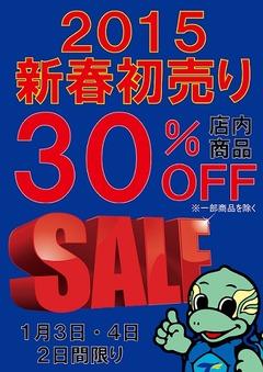 2015初売り POP  ブログ用