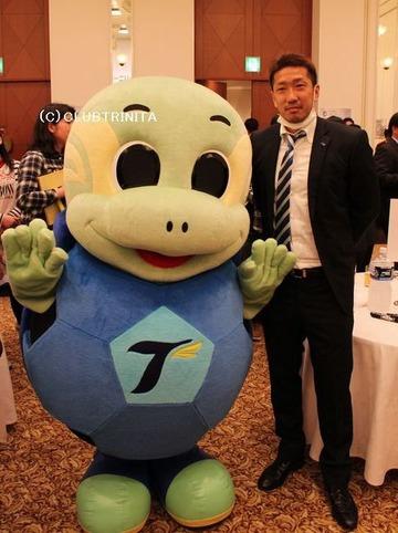 13番 高松選手&ニータン2