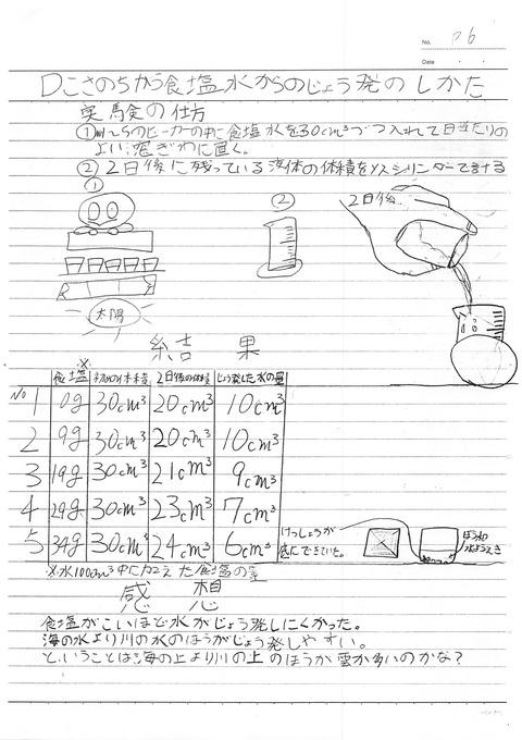 食塩水の性質ふき子小学5年_6