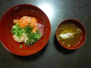 塩こうじ海鮮丼