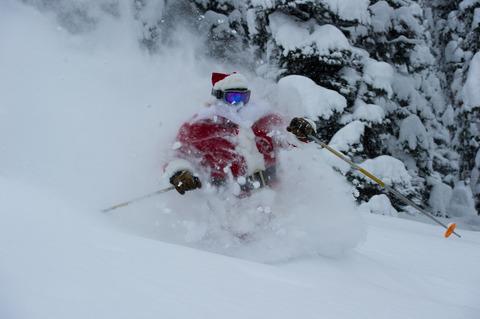 Santa, Powder, Mike Welch