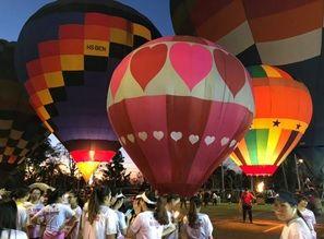 リゾート内気球上げ1