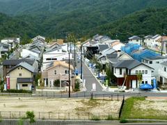 街並みと屋根形状