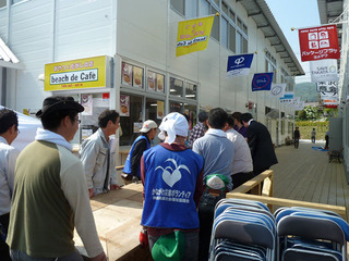 陸前高田の仮設店舗