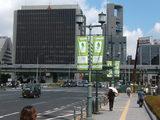 世界陸上の準備が進む大阪の街