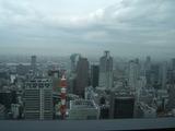 大阪梅田の高層ビル街
