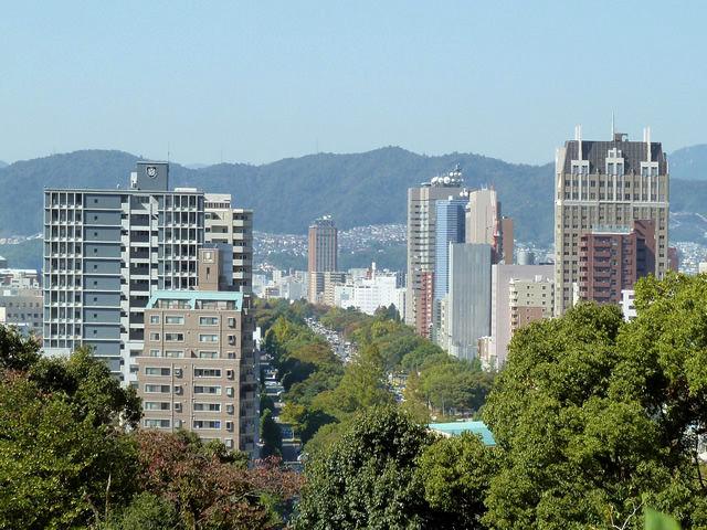 広島平和大通り