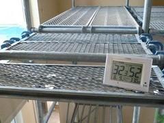 2階吹抜けの温度