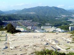 広島の郊外団地