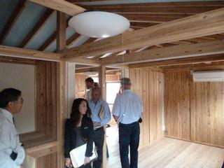 木造仮設住宅内部