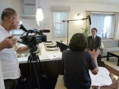 BS放送インタビュー撮影