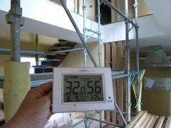 1階リビングの温度