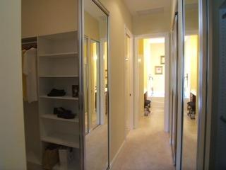 モデルハウスの廊下