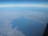 伊勢湾から見えた富士山