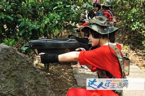 サバイバルゲーム@上海松江公園