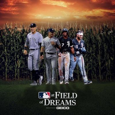 MLB at FIELD of DREAMS(Bloomberg)