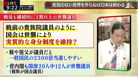 差別のない世界を作らねば日本は終わる(ダンディ、210531)