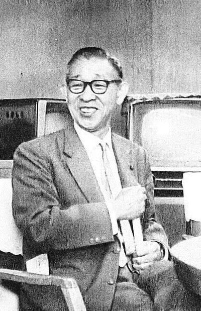 松下幸之助さん(Wiki.、1960年代)