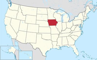 アイオワ州(Wikipedia)