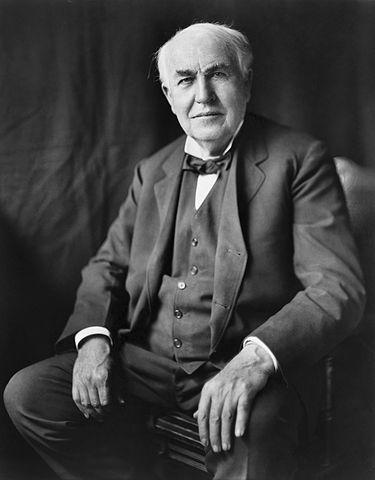 トーマス・エジソン(Wiki.)