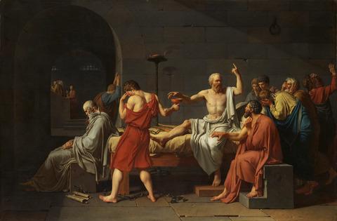 ソクラテスの死(wiki)