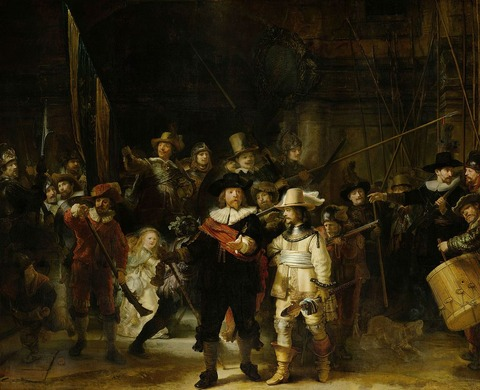 The_Nightwatch_by_Rembrandt(Wikiより引用)
