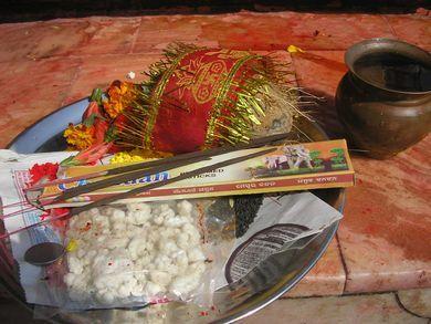 ネパールにて★ヒンドゥ寺院参拝