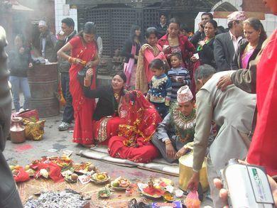 ネパール★まだまだ続くヒンドゥ寺院参拝