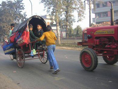チャクラ旅★インドので日常的な様子