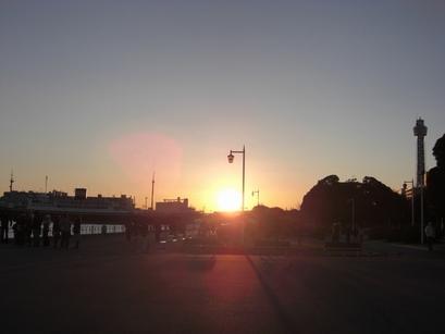 09年初日の出