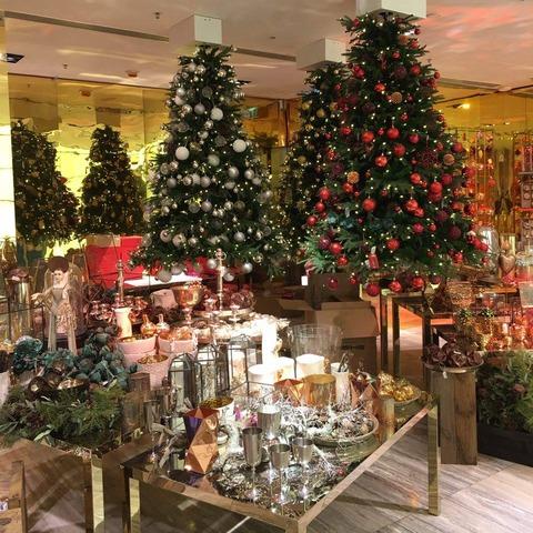 香港_レーンクロフォード_クリスマスツリー