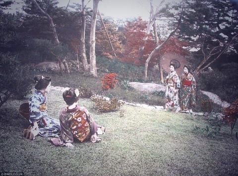 玉村康三郎がアメリカの出版社の依頼で撮影した写真