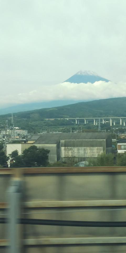 1026土曜日の富士山