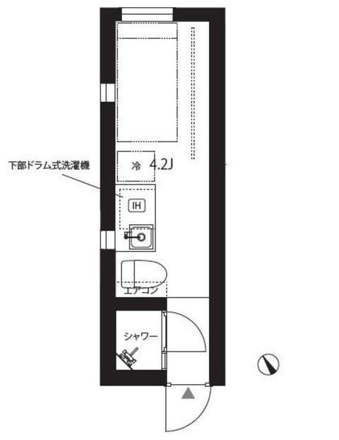 都内家賃6万円の部屋