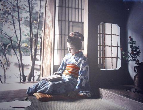 イギリスで見つかったていう大正初期の日本人