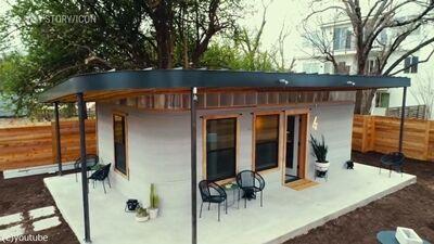 3Dプリンター住宅