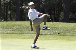 オバマの夏休み