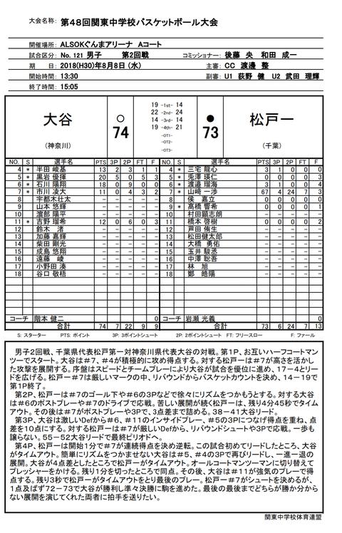 山崎一渉中学時代の成績