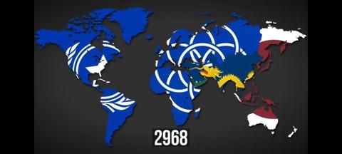 世界勢力図5