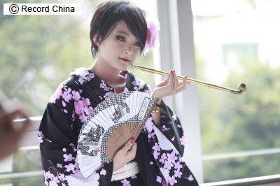 中国人コスプレイヤー