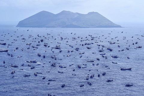 尖閣諸島周辺の現在の画像