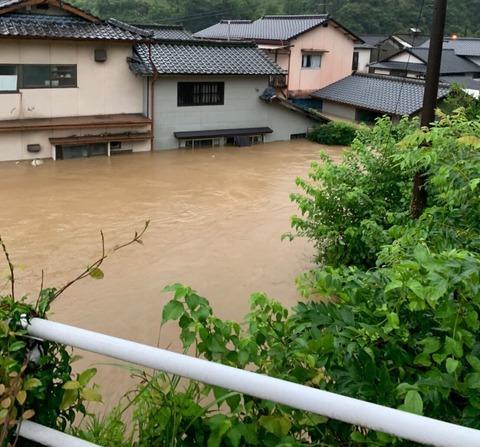 熊本南部洪水