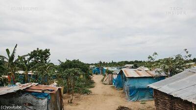 貧しい農村