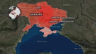 ウクライナ海軍に砲撃