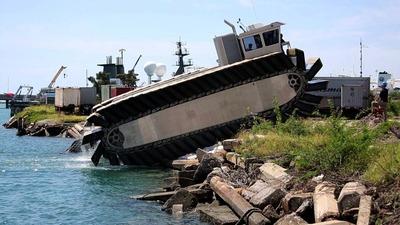 米水陸両用車