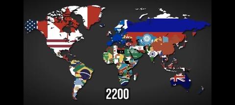 世界勢力図