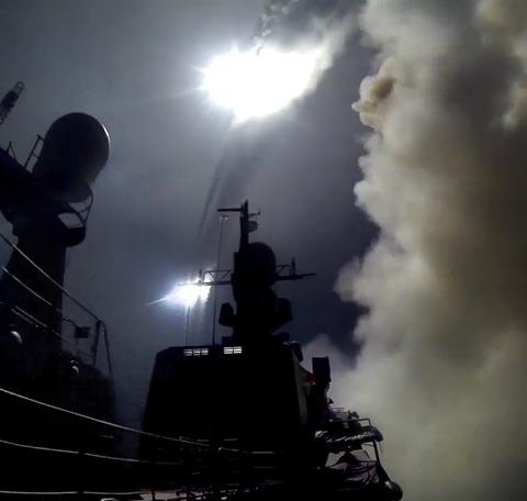 ロシア軍が実戦で初めて使用した巡航ミサイル