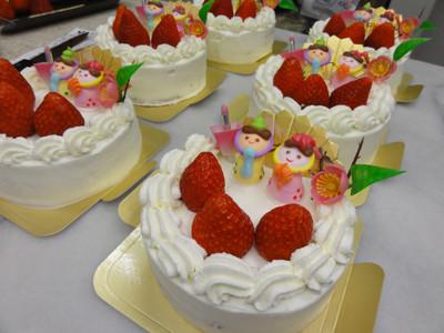 2011ひなケーキ犬用