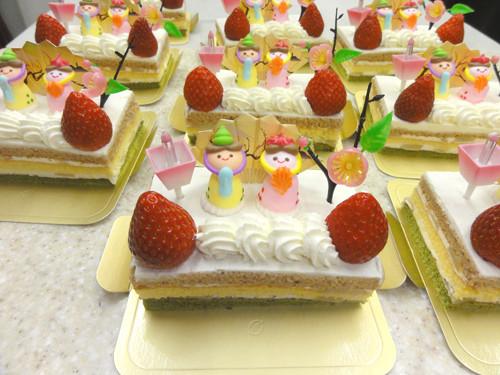 2012年おひな様ケーキ